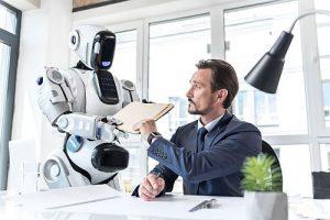 Anwalt gegne Roboter